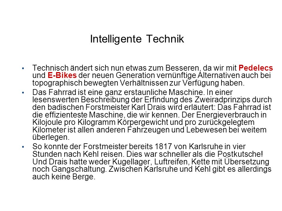 Intelligente Technik