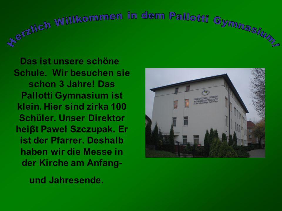 Herzlich Willkommen in dem Pallotti Gymnasium!