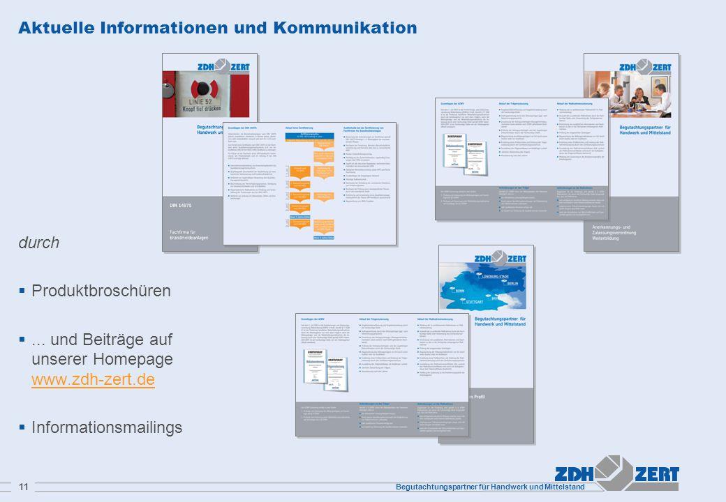 Aktuelle Informationen und Kommunikation
