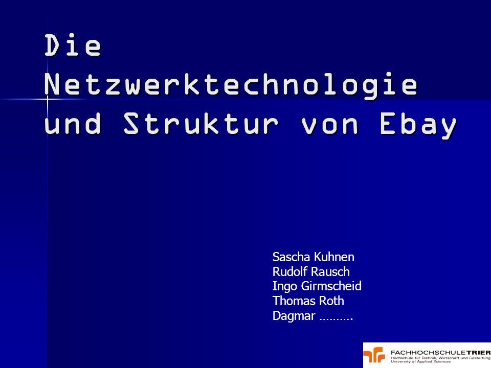 Die Netzwerktechnologie und Struktur von Ebay