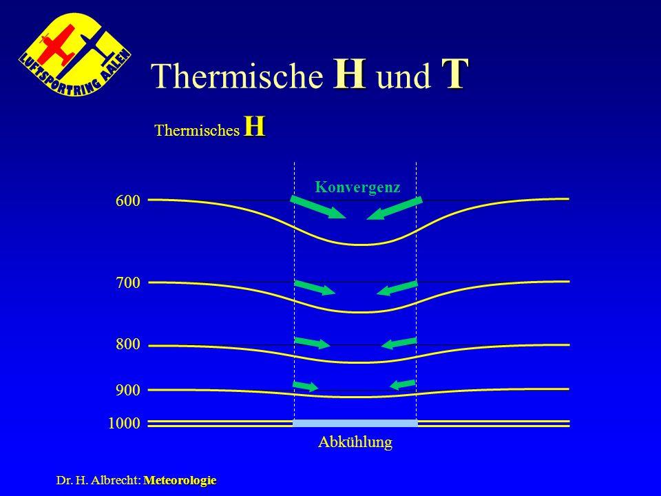 Thermische H und T Thermisches H Konvergenz 600 700 800 900 1000