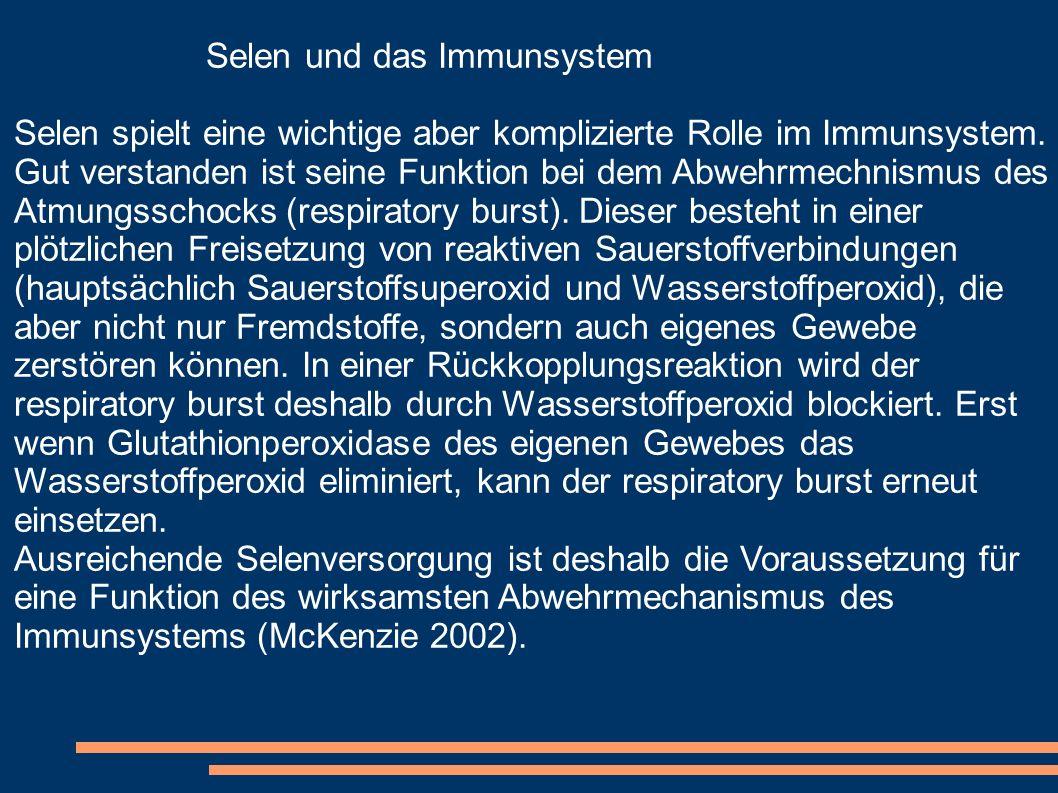 Selen und das Immunsystem