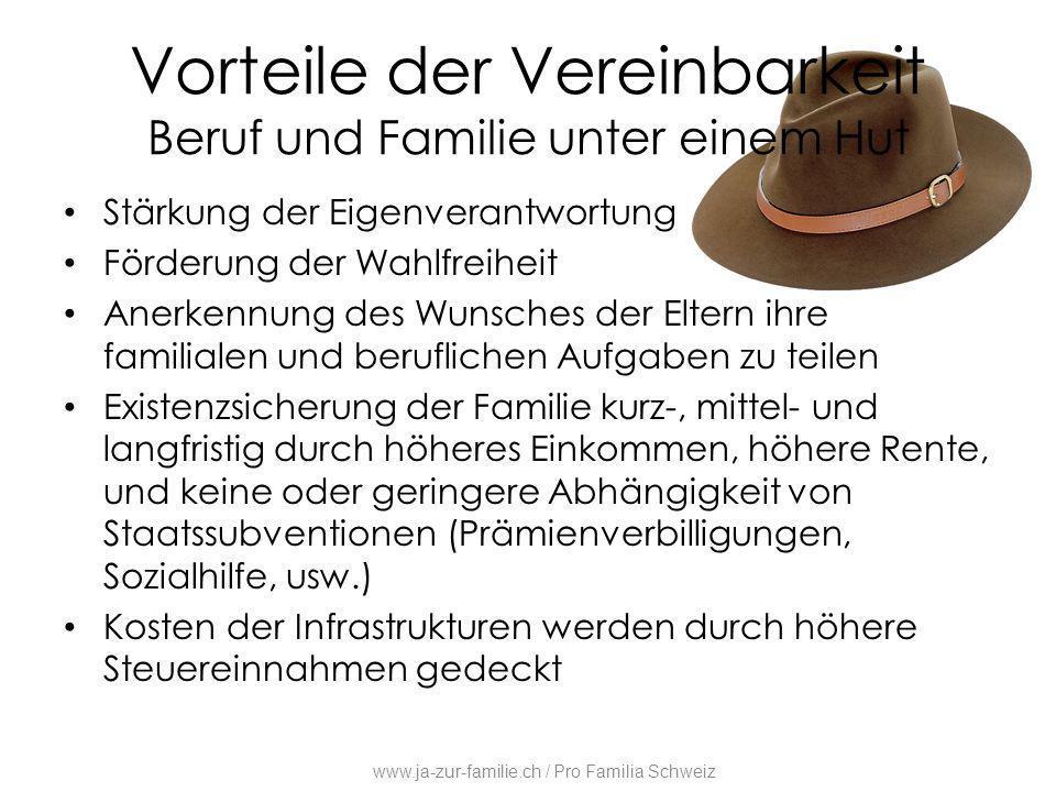 Vorteile der Vereinbarkeit Beruf und Familie unter einem Hut