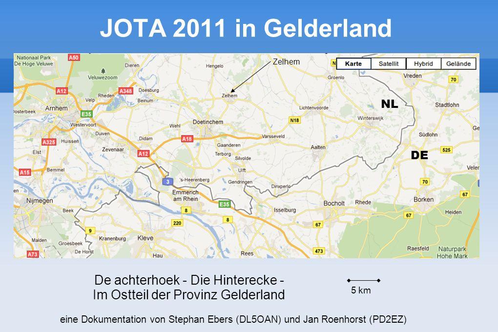 JOTA 2011 in Gelderland De achterhoek - Die Hinterecke -