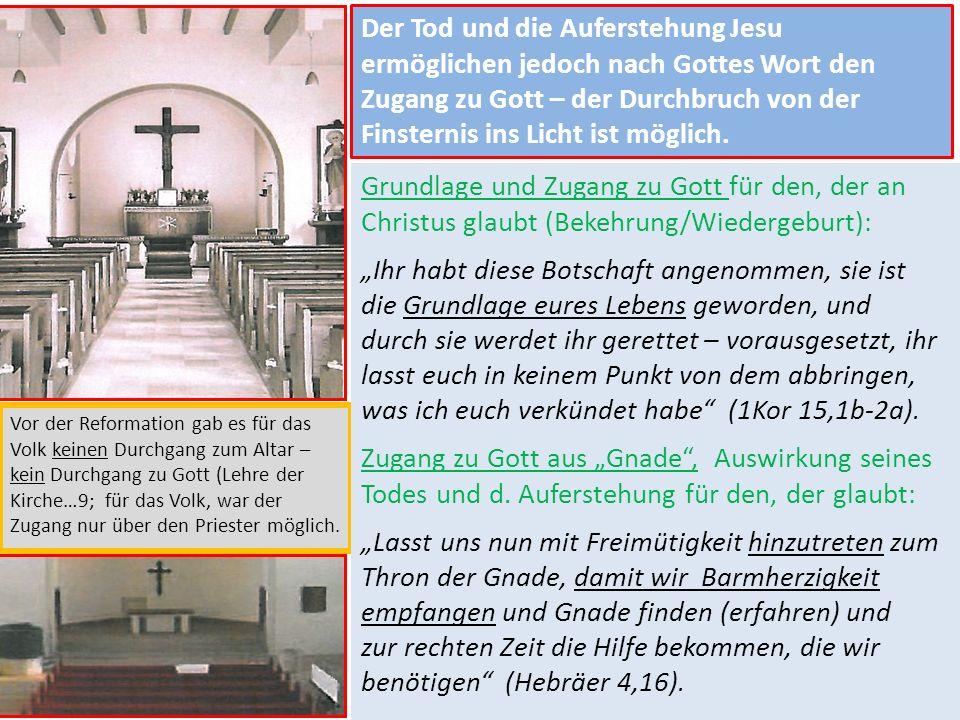 Der Tod und die Auferstehung Jesu