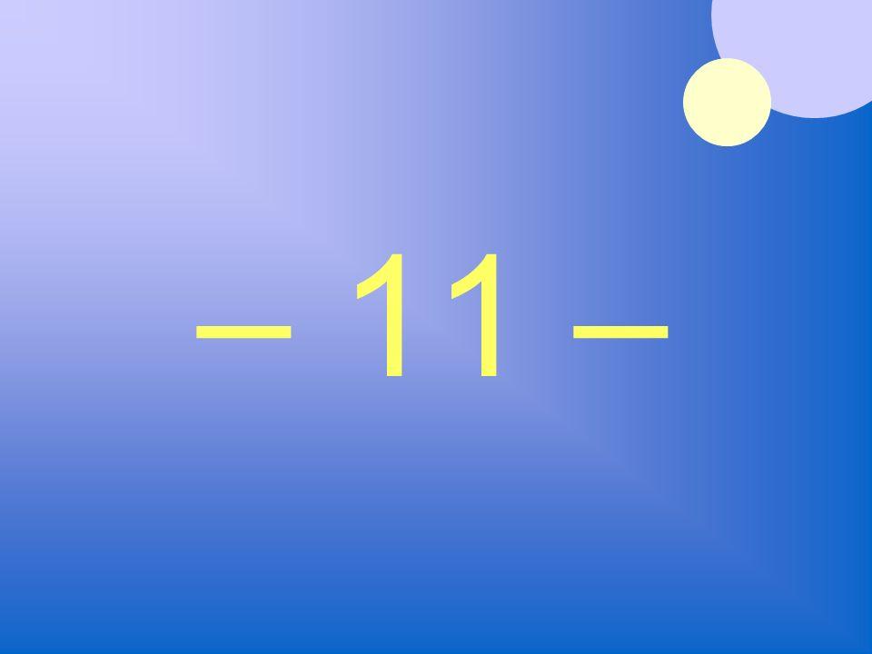 – 11 –