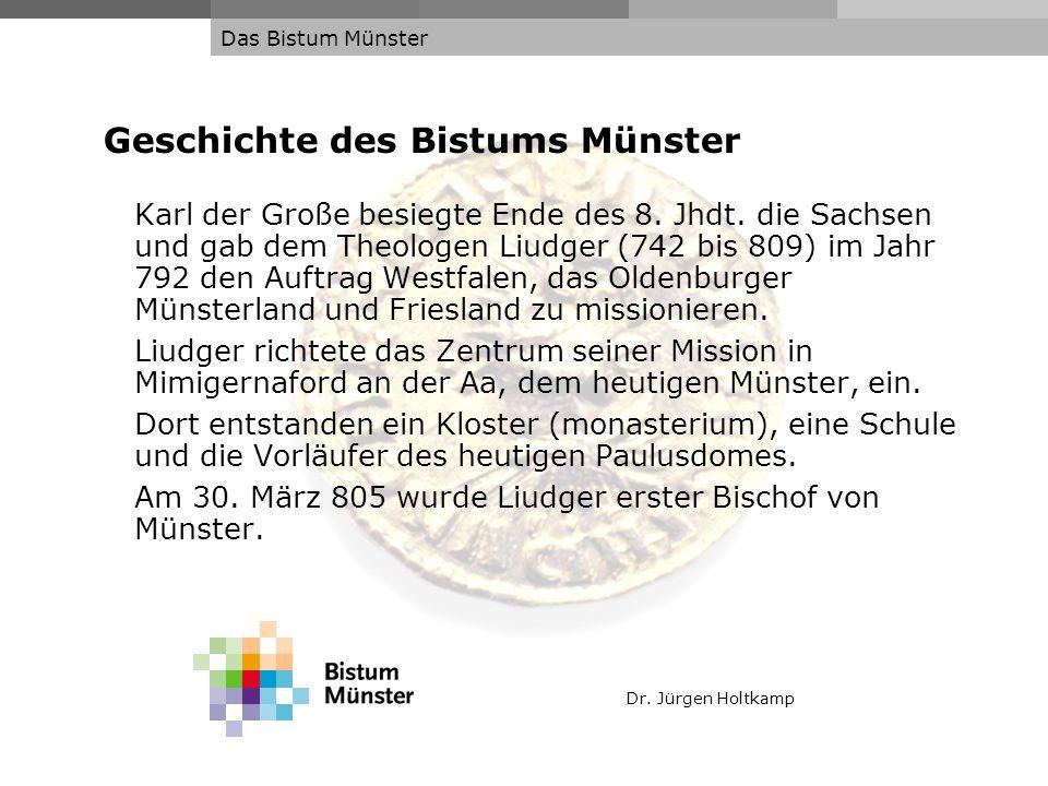 Geschichte des Bistums Münster