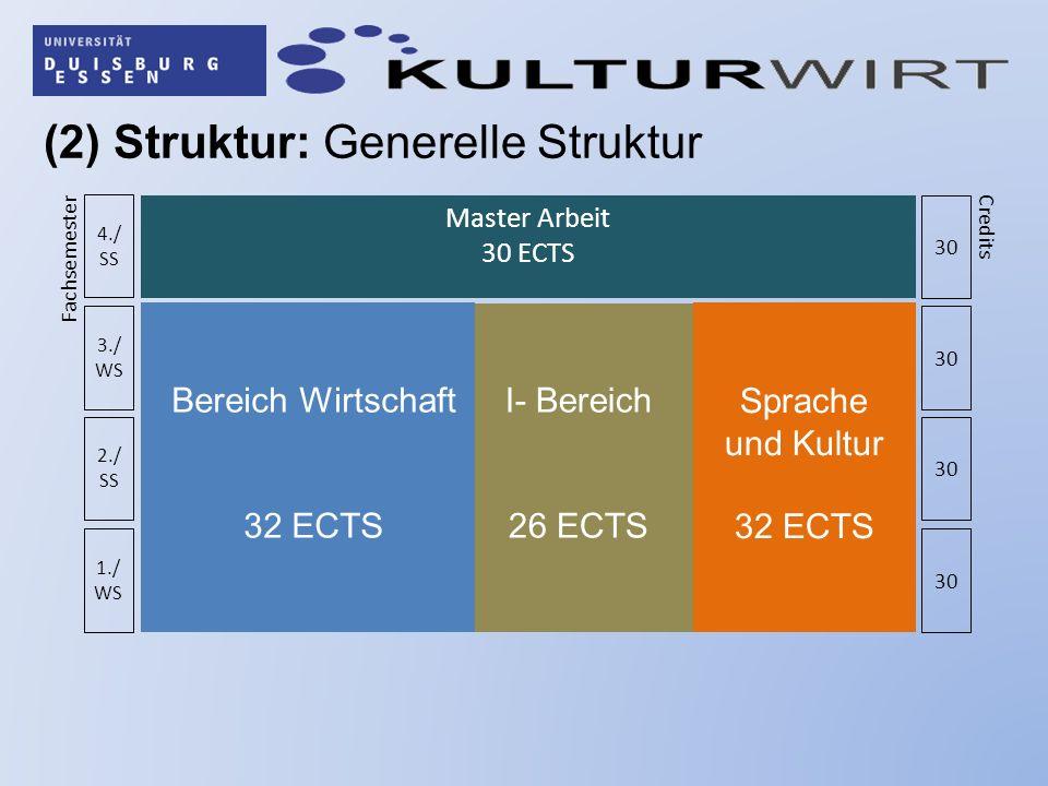 (2) Struktur: Generelle Struktur