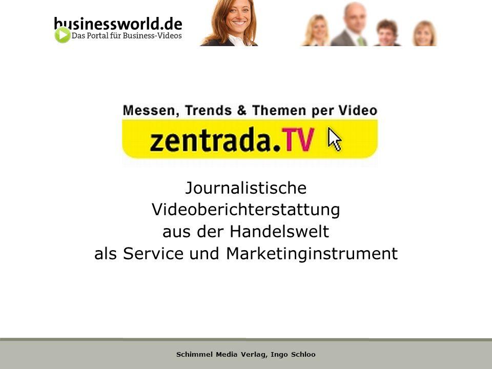 Videoberichterstattung aus der Handelswelt