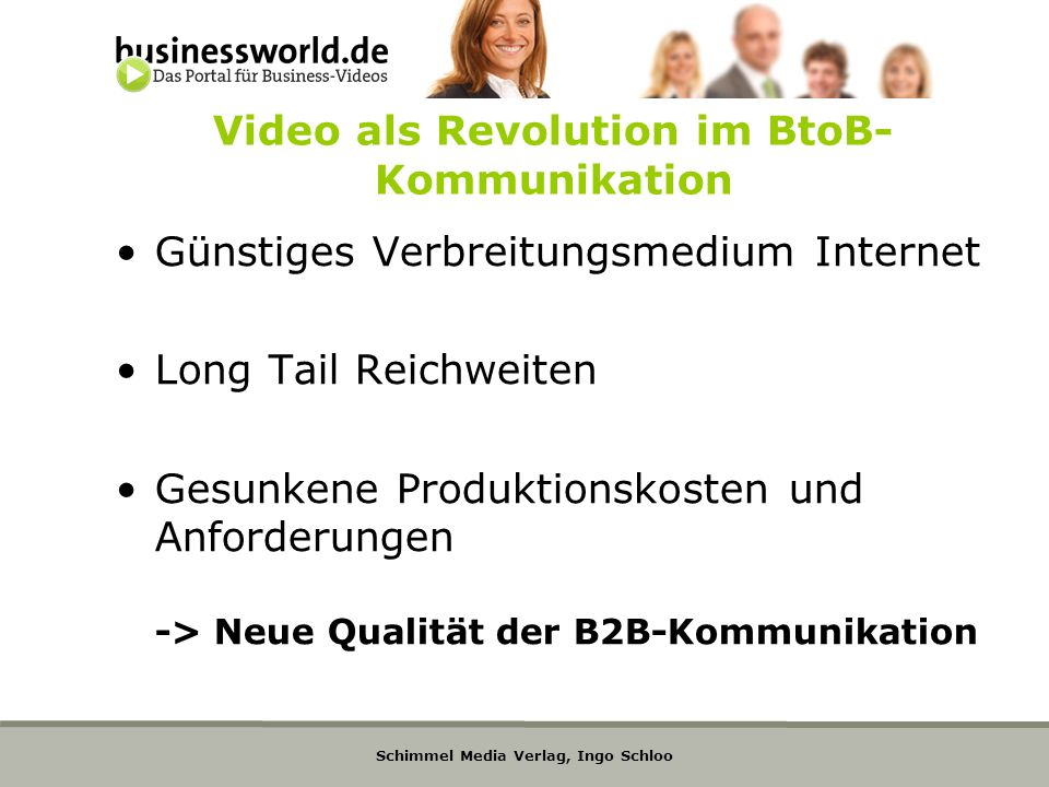 Video als Revolution im BtoB-Kommunikation