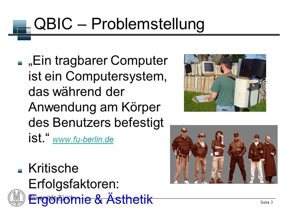 QBIC – Problemstellung
