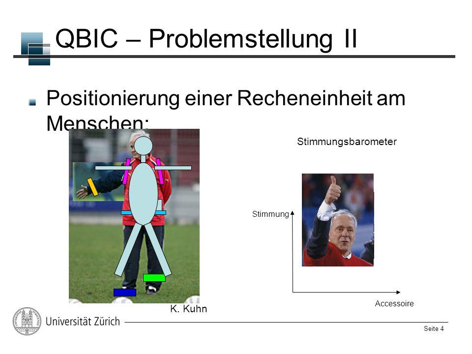 QBIC – Problemstellung II