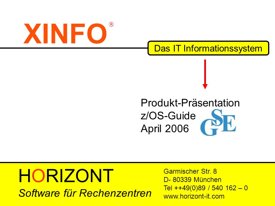 Das IT Informationssystem