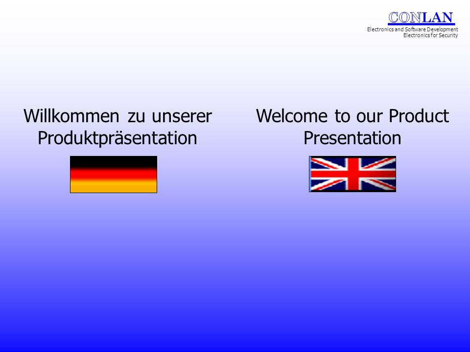 Willkommen zu unserer Produktpräsentation