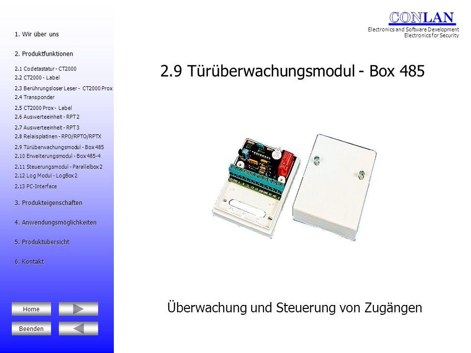 2.9 Türüberwachungsmodul - Box 485