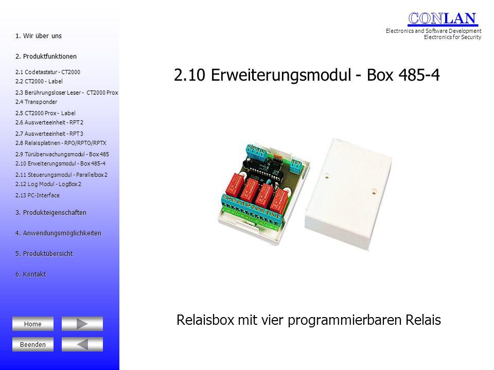 2.10 Erweiterungsmodul - Box 485-4