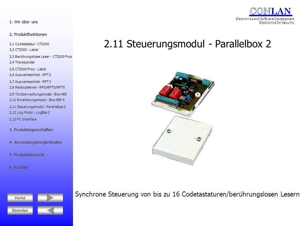 2.11 Steuerungsmodul - Parallelbox 2