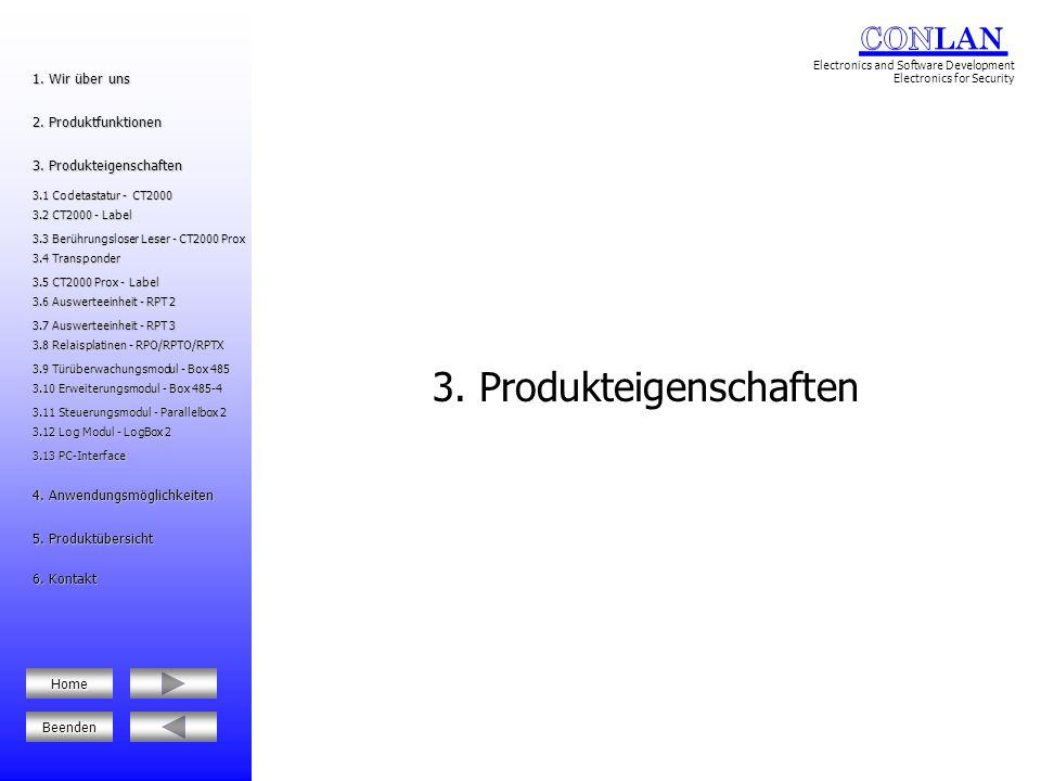 3. Produkteigenschaften