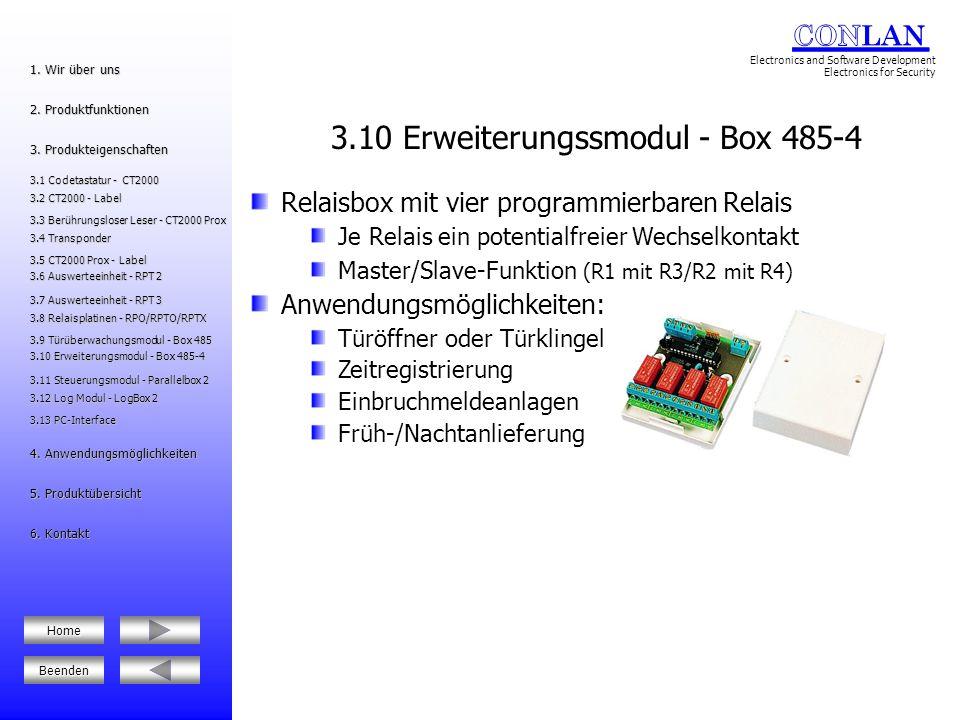 3.10 Erweiterungssmodul - Box 485-4