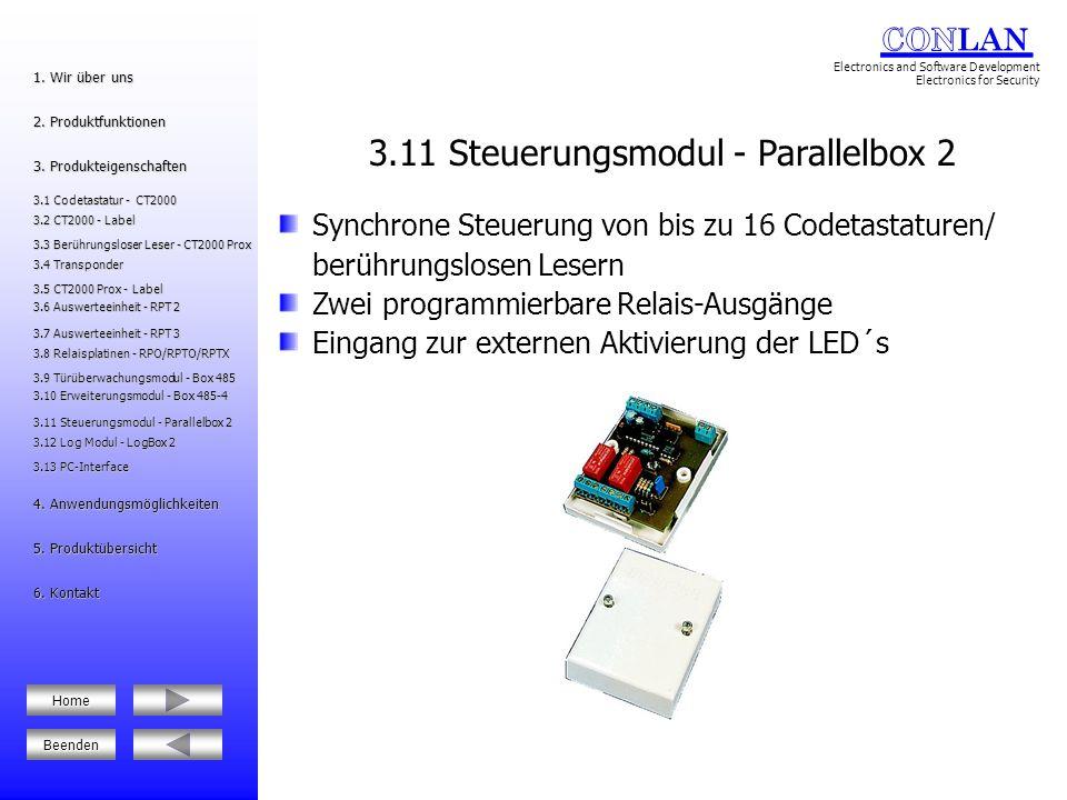 3.11 Steuerungsmodul - Parallelbox 2