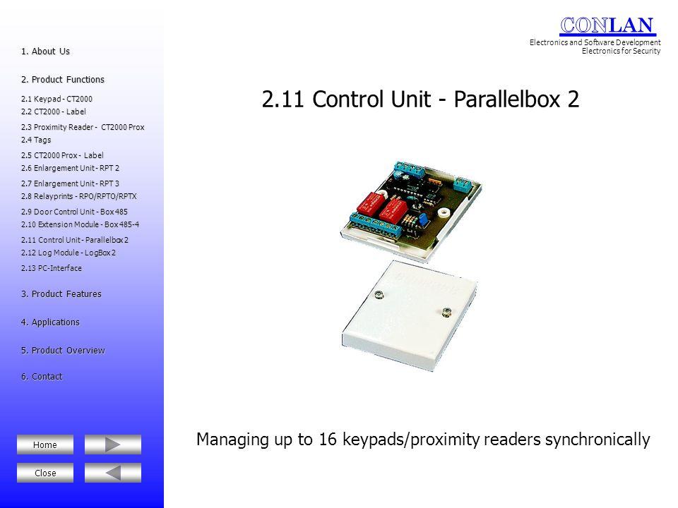 2.11 Control Unit - Parallelbox 2
