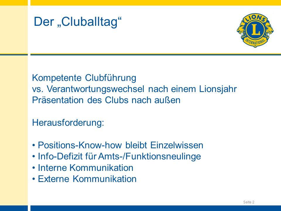 """Der """"Cluballtag Kompetente Clubführung"""