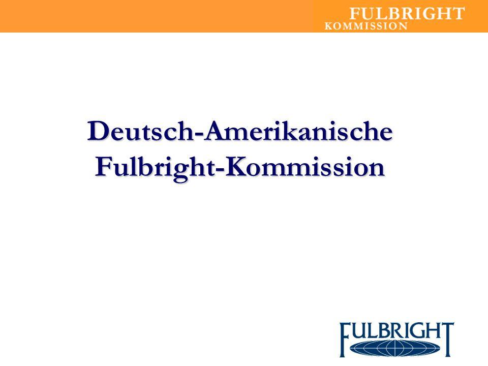 Deutsch-Amerikanische Fulbright-Kommission