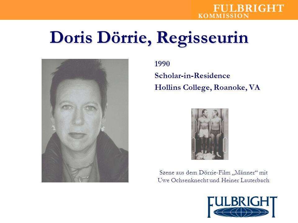Doris Dörrie, Regisseurin
