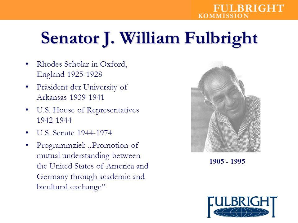 Senator J. William Fulbright