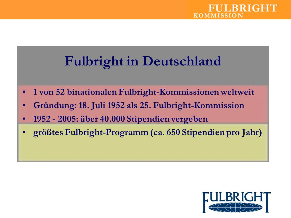 Fulbright in Deutschland