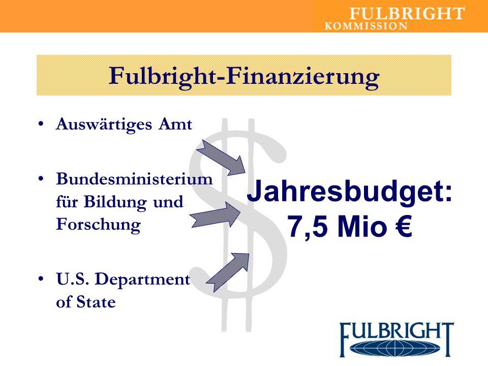 Fulbright-Finanzierung