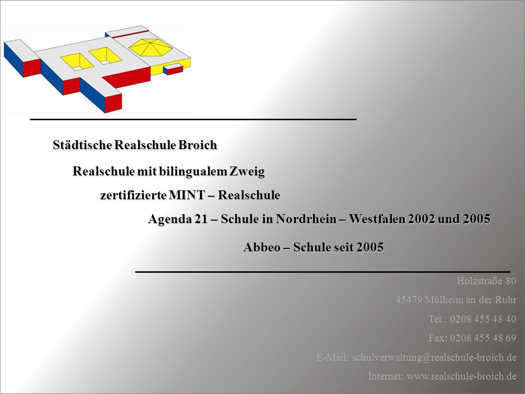Städtische Realschule Broich
