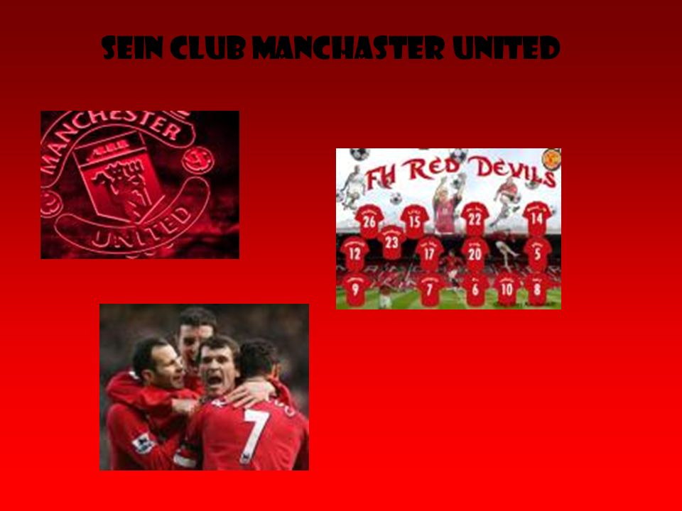 Sein Club Manchaster United