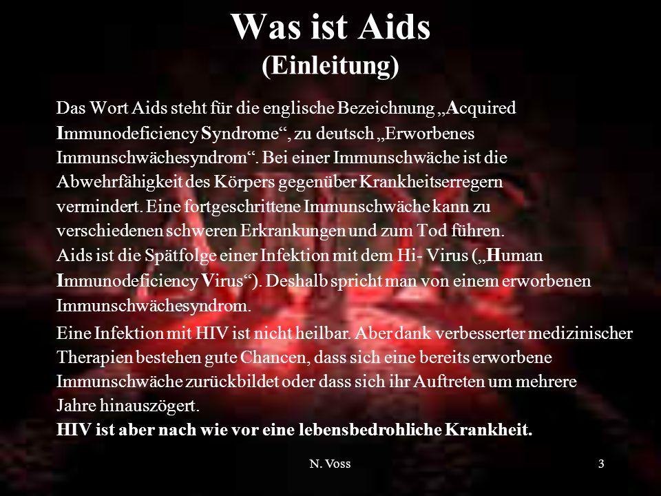Was ist Aids (Einleitung)