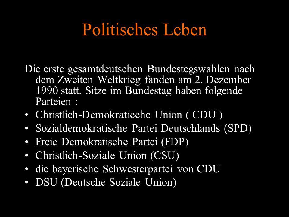 Politisches Leben