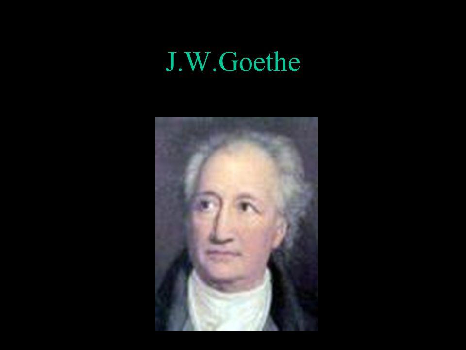 J.W.Goethe