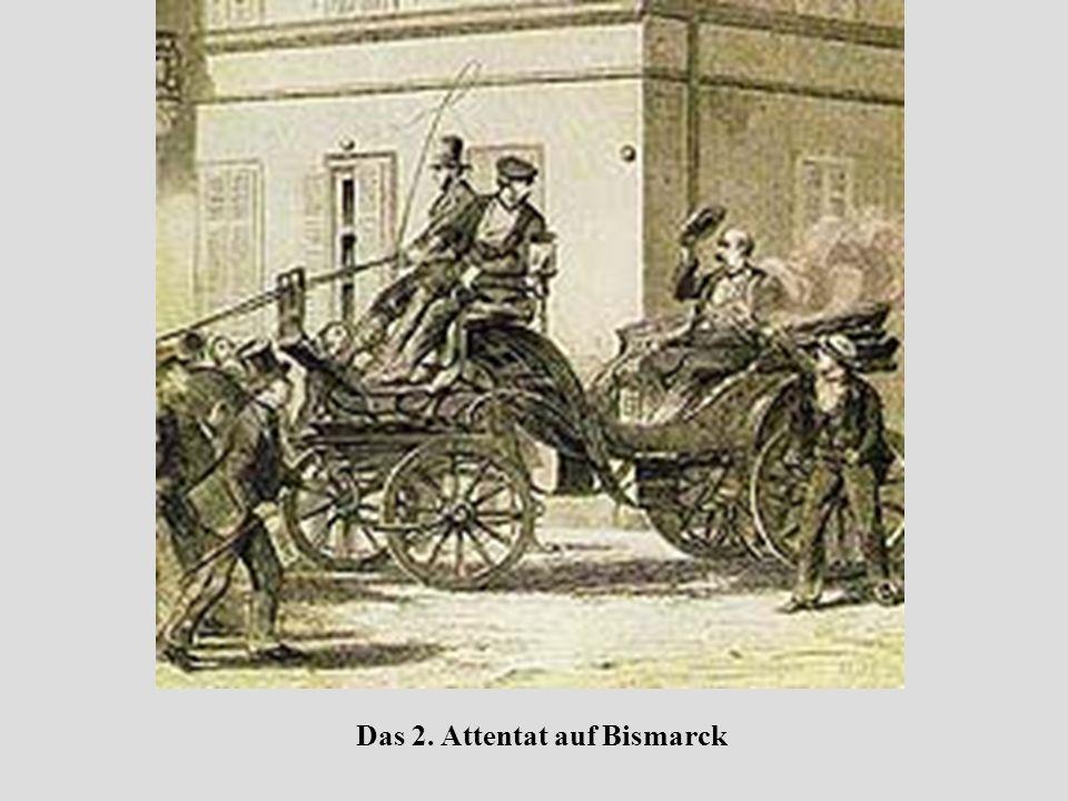 Das 2. Attentat auf Bismarck