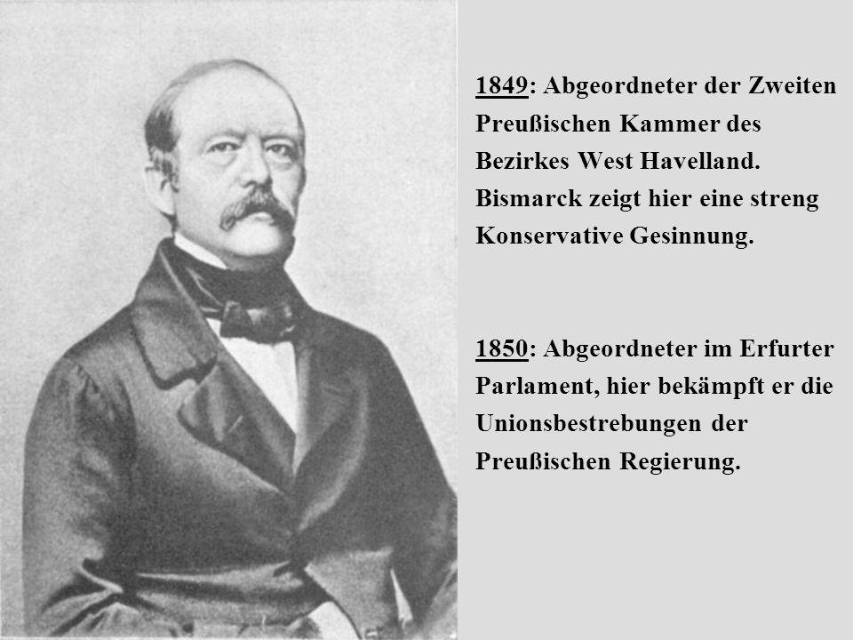 1849: Abgeordneter der Zweiten