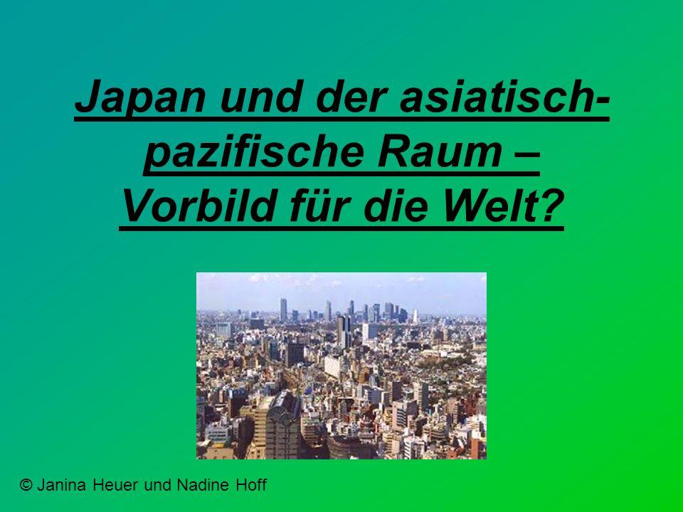 Japan und der asiatisch-pazifische Raum – Vorbild für die Welt