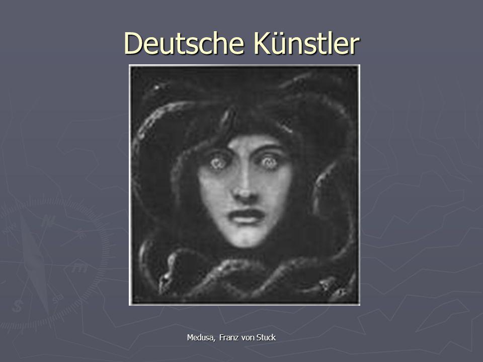 Deutsche Künstler Medusa, Franz von Stuck