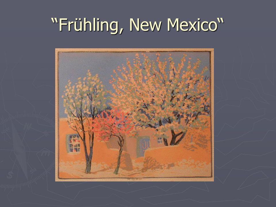 Frühling, New Mexico
