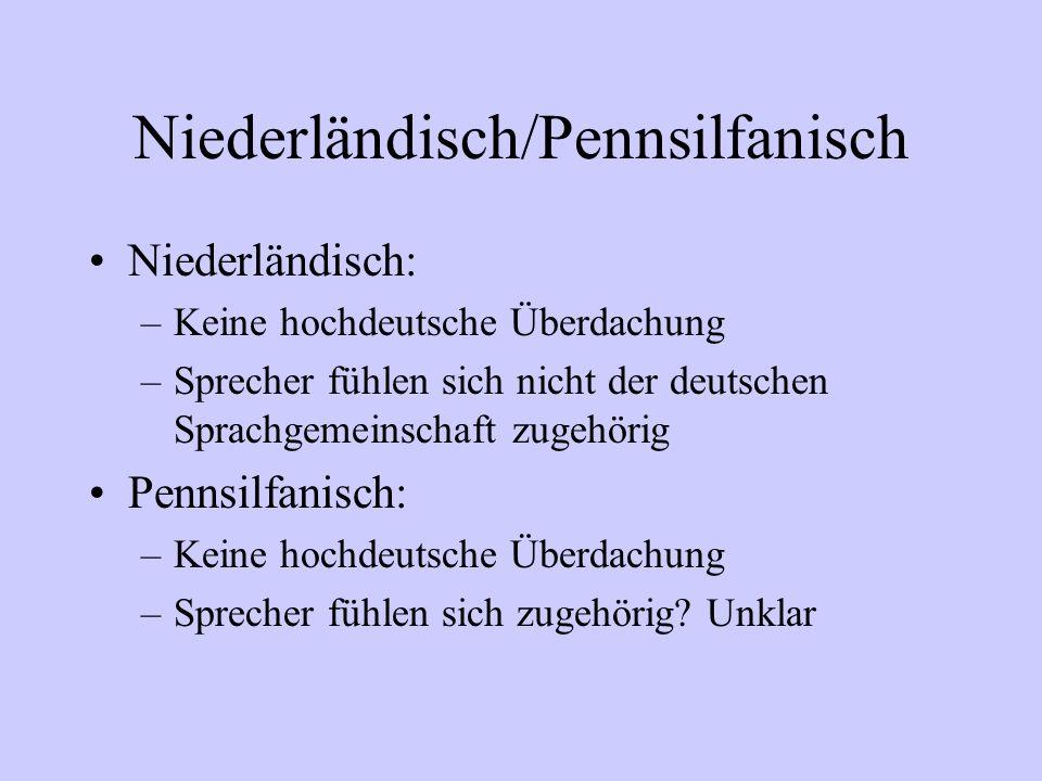 Niederländisch/Pennsilfanisch