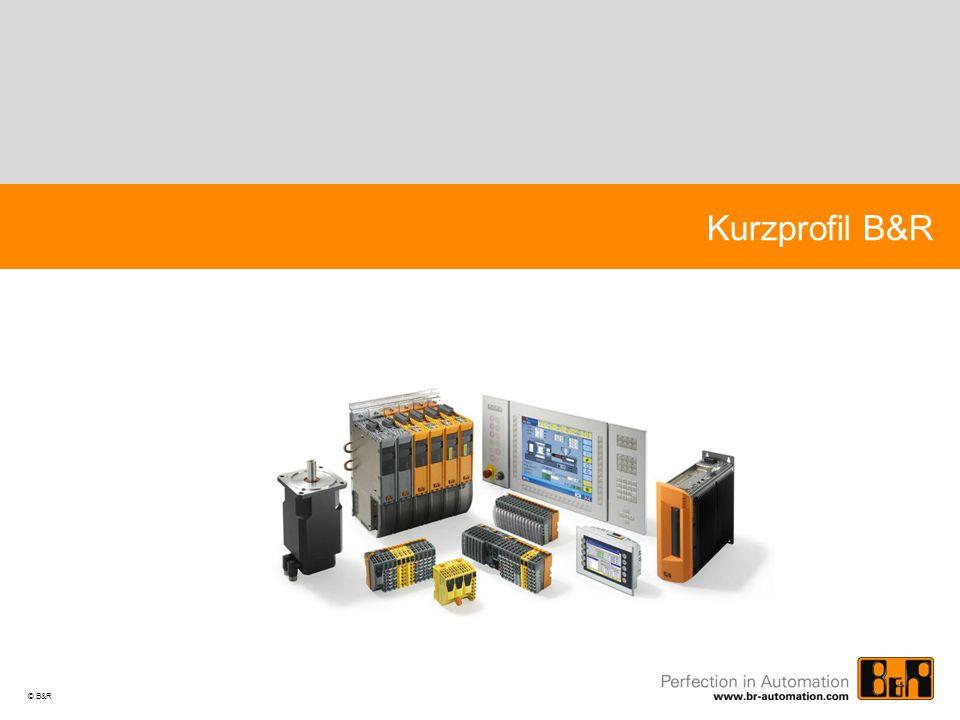 Kurzprofil B&R © B&R Powerpoint_Vorlage_V61D