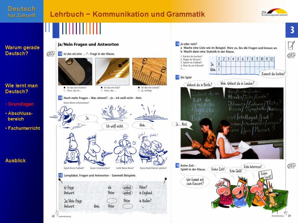 Lehrbuch − Kommunikation und Grammatik