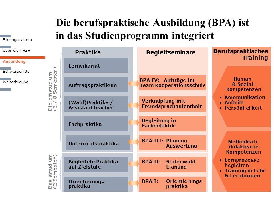 Human- & Sozial- kompetenzen Methodisch-didaktische Kompetenzen
