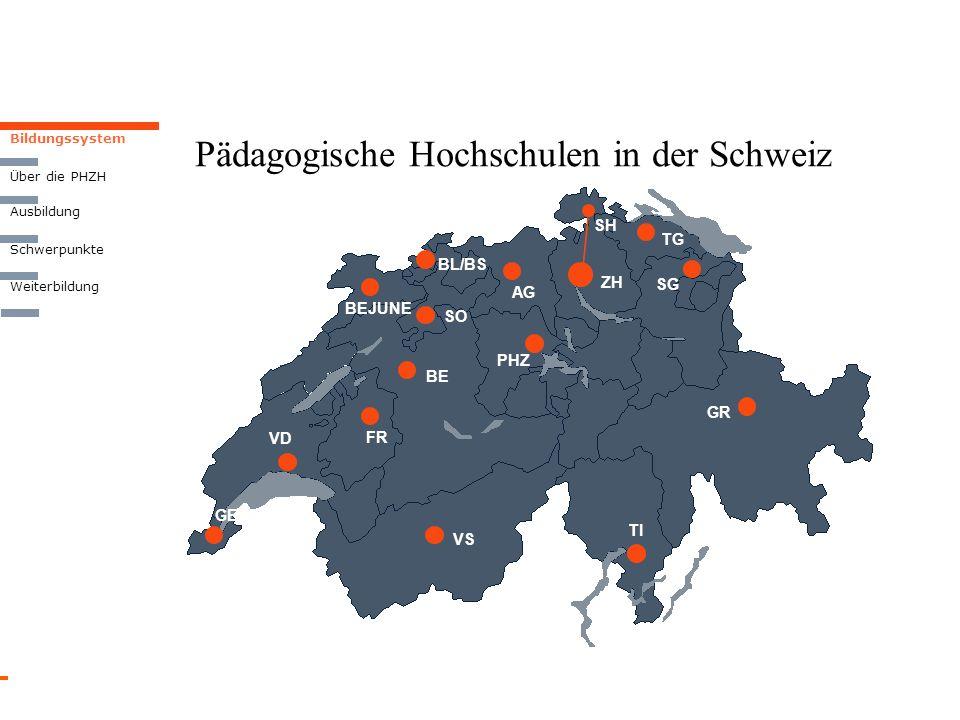 Pädagogische Hochschulen in der Schweiz