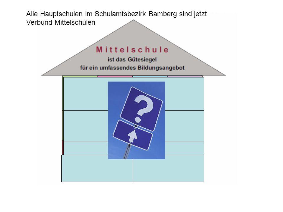 Alle Hauptschulen im Schulamtsbezirk Bamberg sind jetzt