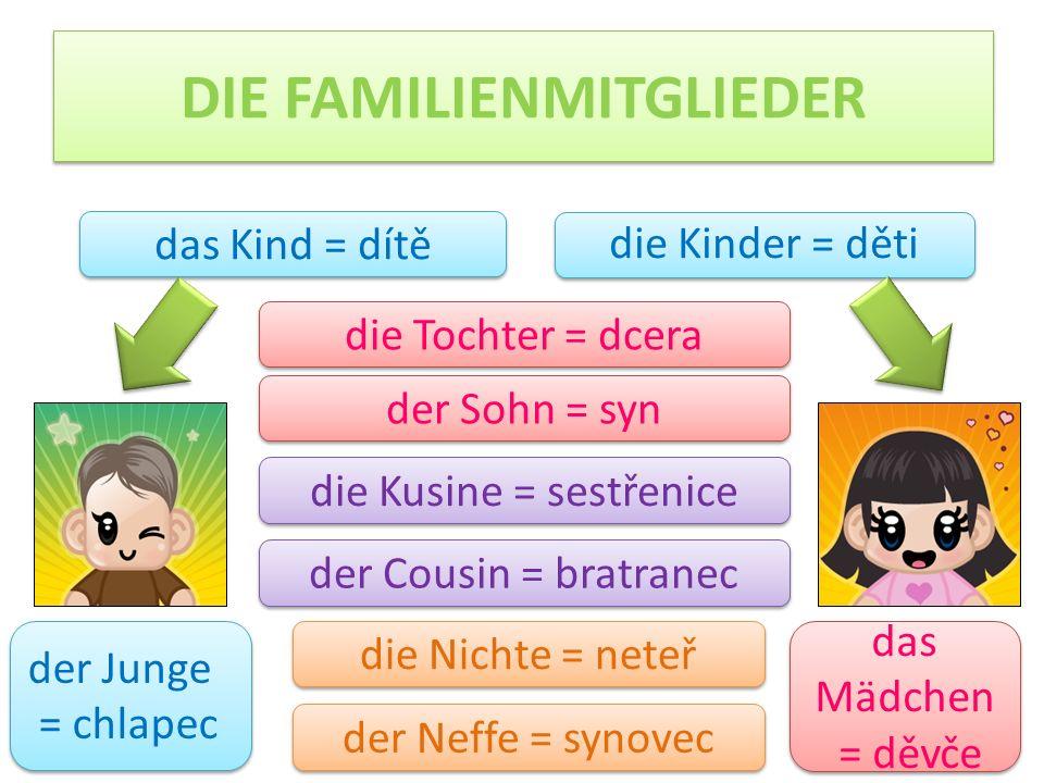 DIE FAMILIENMITGLIEDER