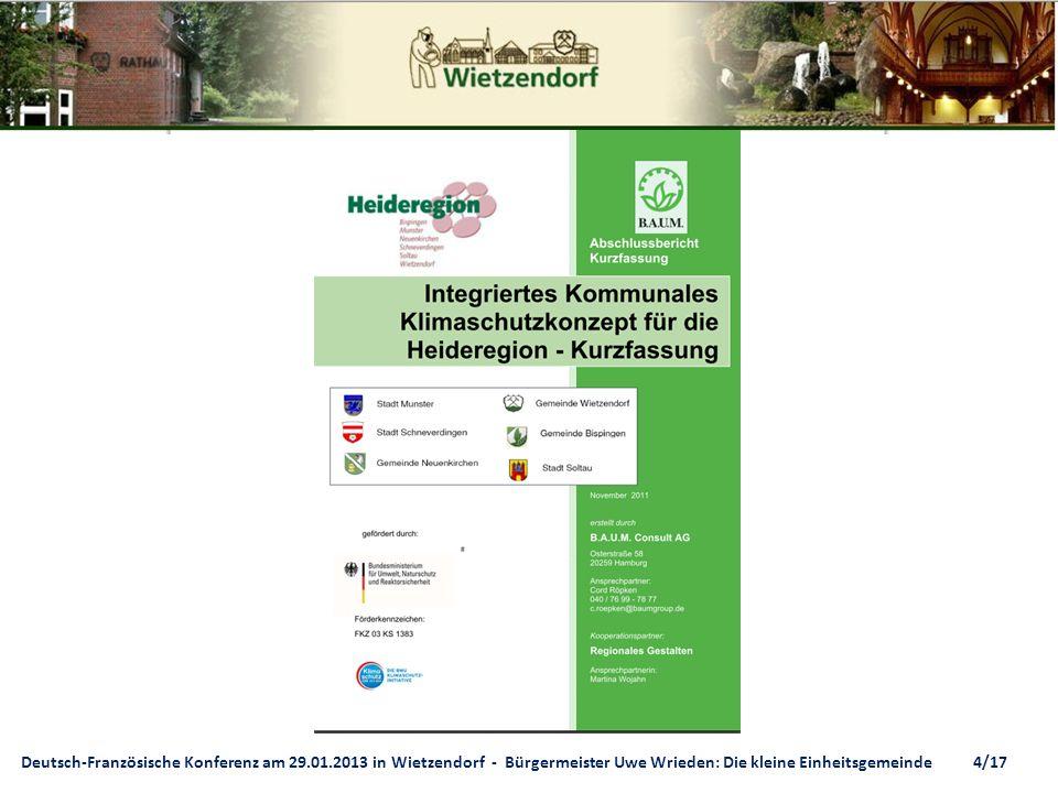 Deutsch-Französische Konferenz am 29. 01