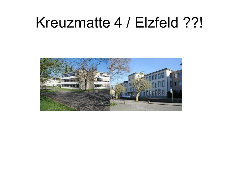 Kreuzmatte 4 / Elzfeld !